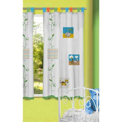 Kinder gardinen deconovo sen gardinen wohnzimmer vorhang for Gardine kinderzimmer tiere