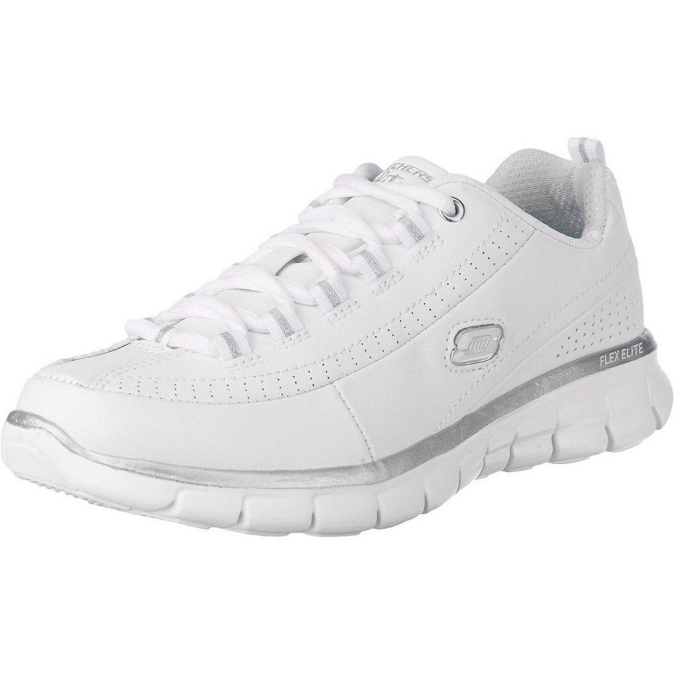 SKECHERS Synergy Elite Status Sneakers in weiß