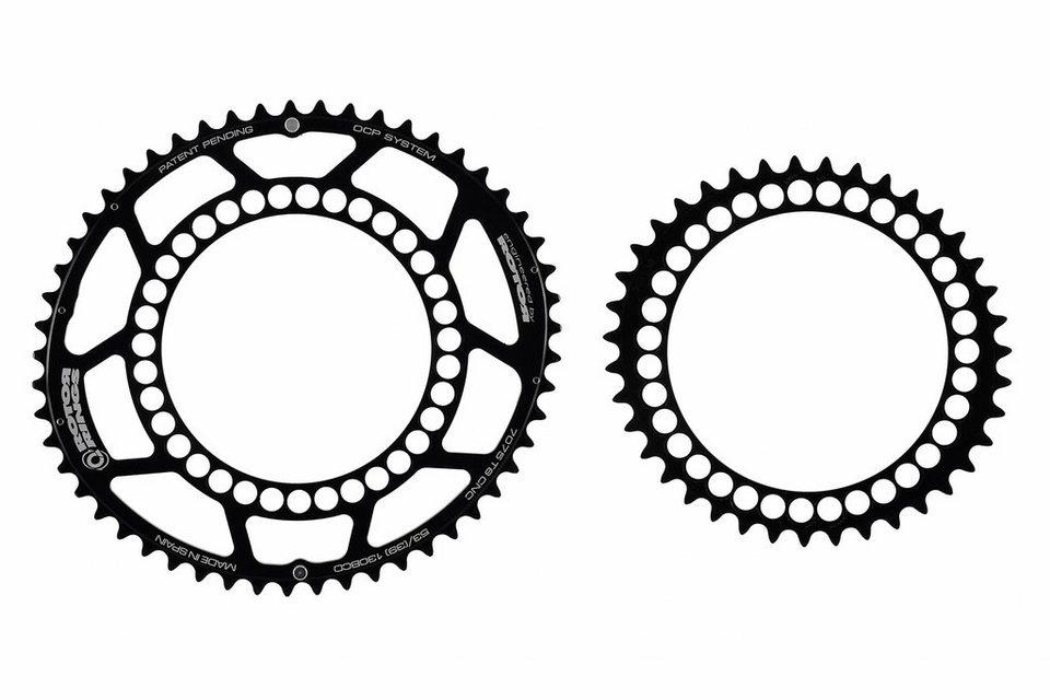 Rotor Kettenblatt »Q-Rings 130 BCD Road Kettenblatt Set 53/39«