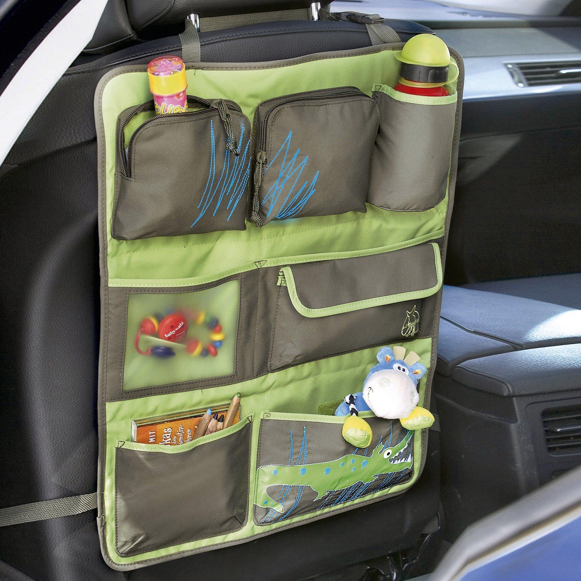 LÄSSIG Rückenlehnen-, Spielzeugtasche Car Wrap to Go