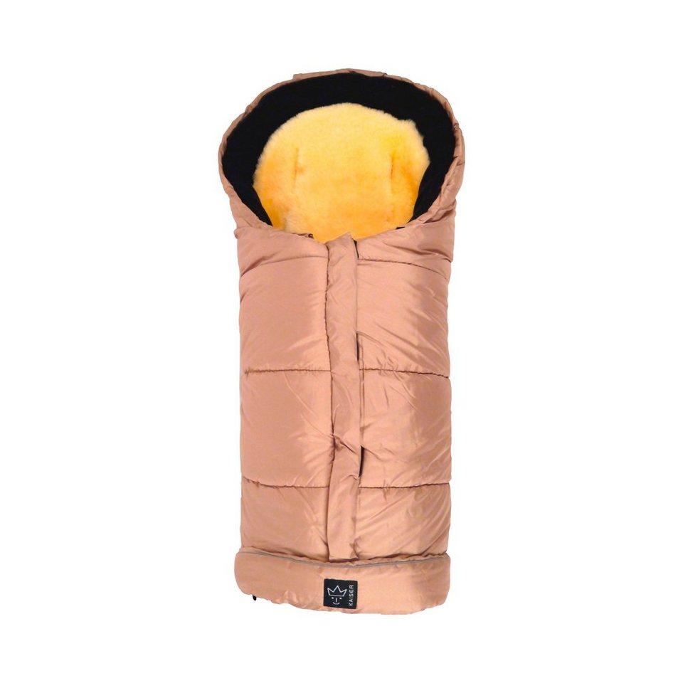KAISER Thermo-Fußsack Sheepy inkl. Lammfelleinlage für Kindersitze,...