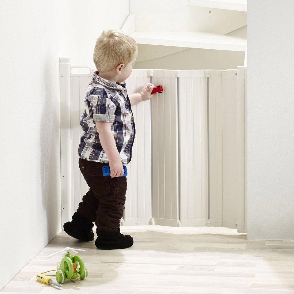 BABY-DAN Tür-/Treppenschutzgitter GUARD ME in weiß