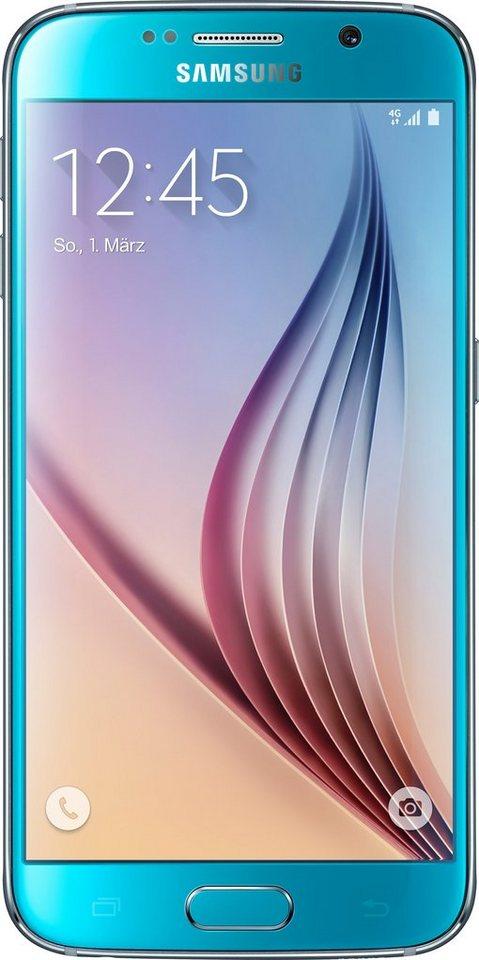 Samsung Galaxy S6, 32GB Smartphone, 12,9 cm (5,1 Zoll) Display in blue-topaz