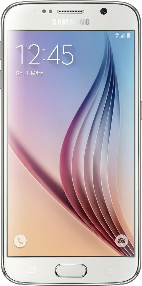 Samsung Galaxy S6, 32GB Smartphone, 12,9 cm (5,1 Zoll) Display in white-pearl