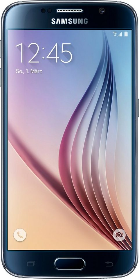 Samsung Galaxy S6, 64GB Smartphone , 12,9 cm (5,1 Zoll) Display in black-sapphire