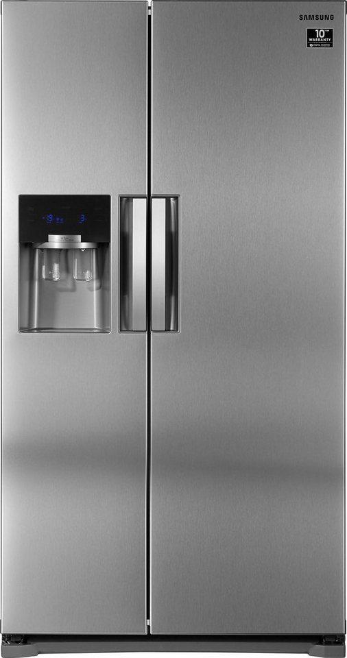 Samsung Side-by-Side RS7768FHCSL, 178,9 cm hoch, 91,2 cm breit ...