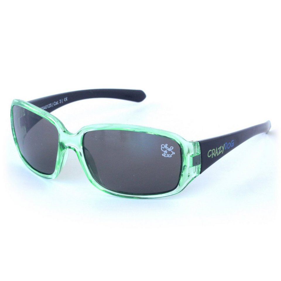"BABY-WALZ Kinder-Sonnenbrille ""crystal fun"" in grün"
