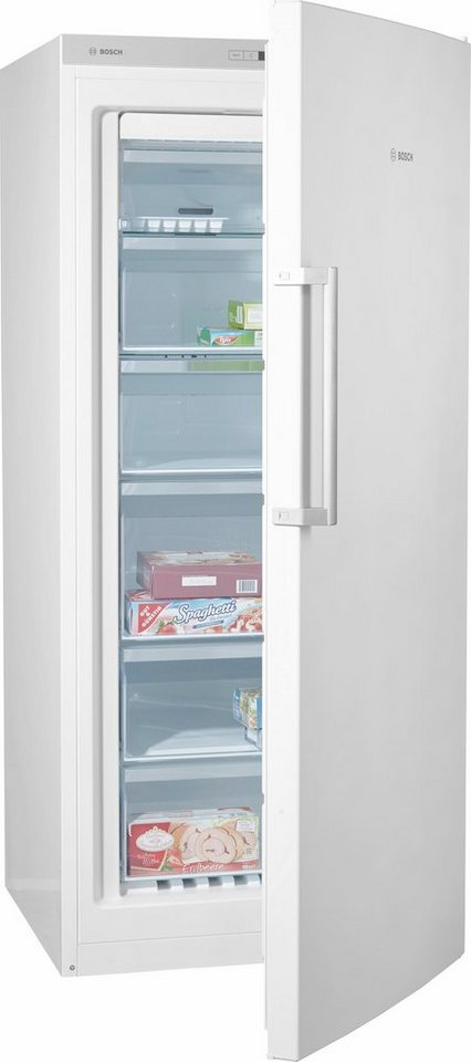 Bosch Gefrierschrank GSN51OW40, A+++, 161 cm hoch, NoFrost in weiß