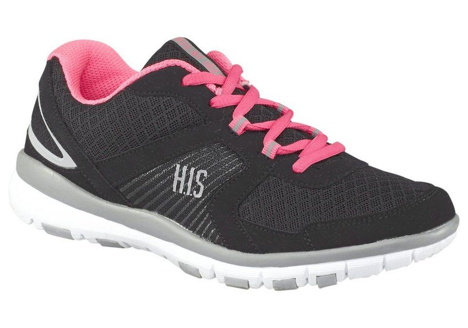 H.I.S Fitnessschuh in Schwarz-Pink