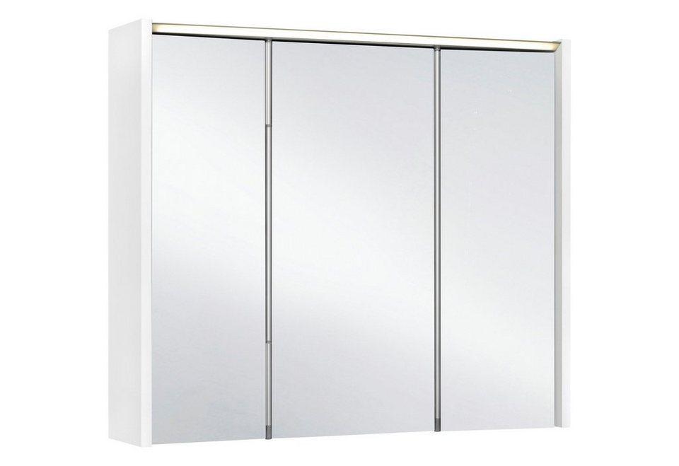 Spiegelschrank »Arbo« Breite 73 cm, mit LED-Beleuchtung in weiß
