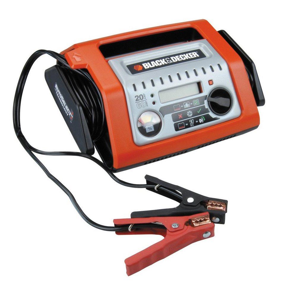 Batterieladegerät »Batterieladegerät 20A vollautomat« in orange