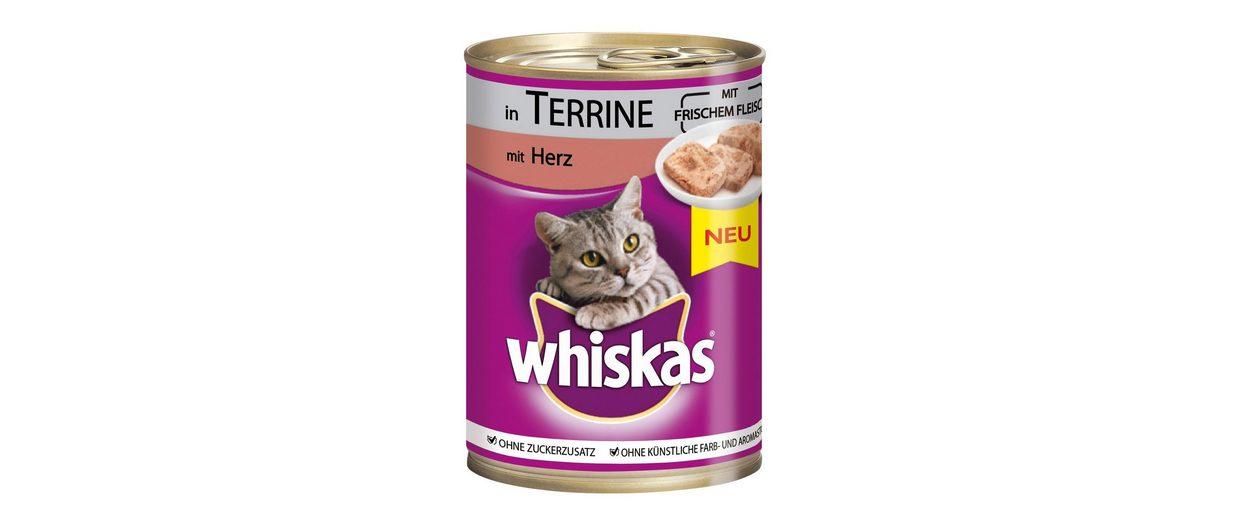 Set: Katzennassfutter »Adult Herz in Terrine«, 12 Dosen á 400 g