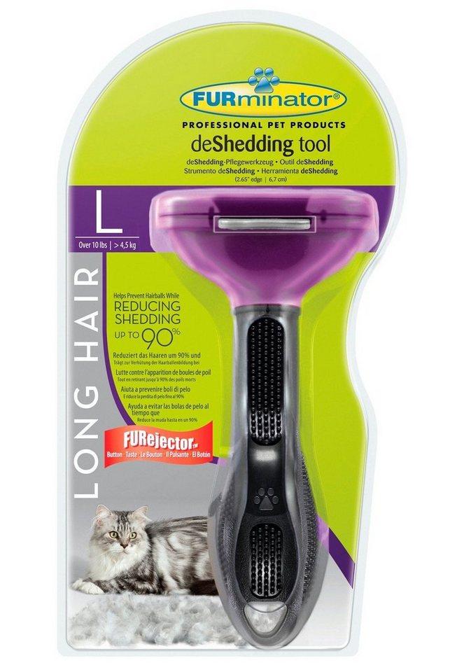 katzen pflegeb rste furminator long hair large cat l online kaufen otto. Black Bedroom Furniture Sets. Home Design Ideas