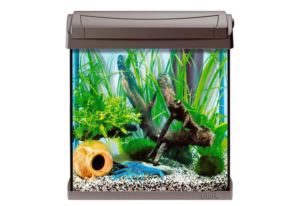 Aquarium »AquaArt Crayfish« 30 l, anthrazit in anthrazit