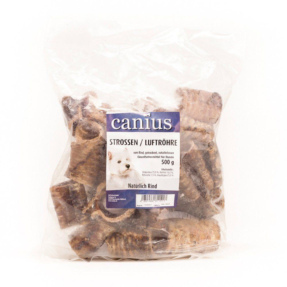 Set: Hundesnack »Strossen/Luftröhre vom Rind«, 3 Beutel á 500 g