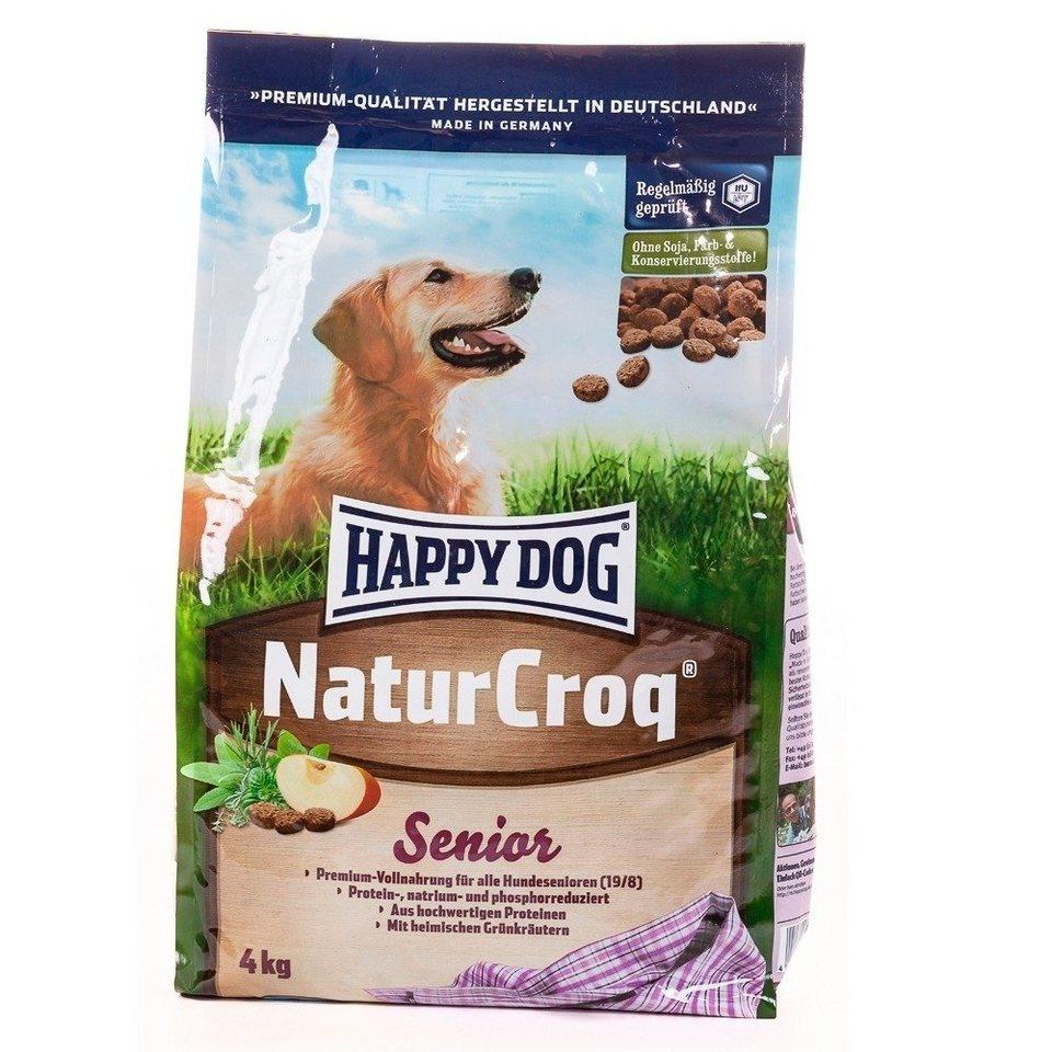 Hundetrockenfutter »NaturCroq Senior«, 15 kg in braun