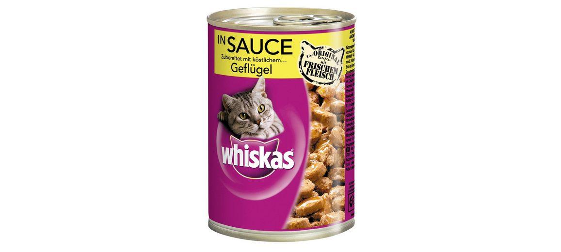 Set: Katzennassfutter »Adult«, 12 Dosen á 400 g