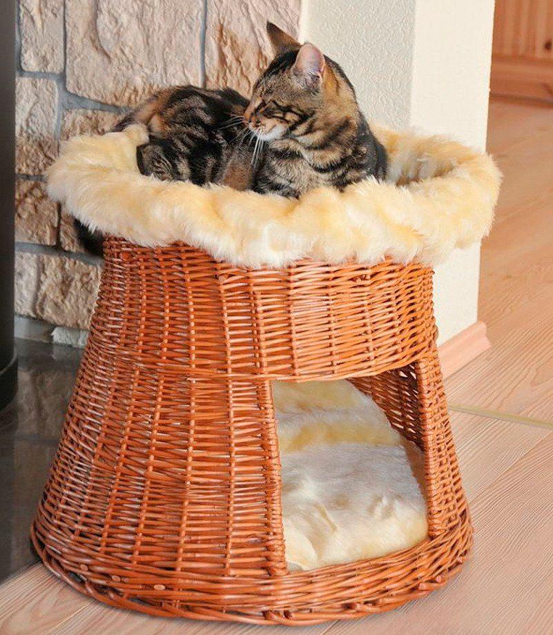 Katzen-Korbturm »Weide«