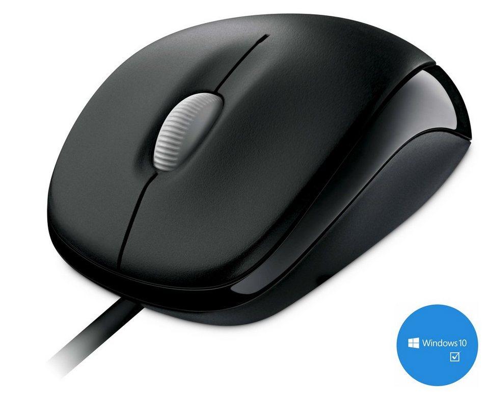 Microsoft Mobile Maus »Compact Optical Mouse 500 USB schwarz« in schwarz