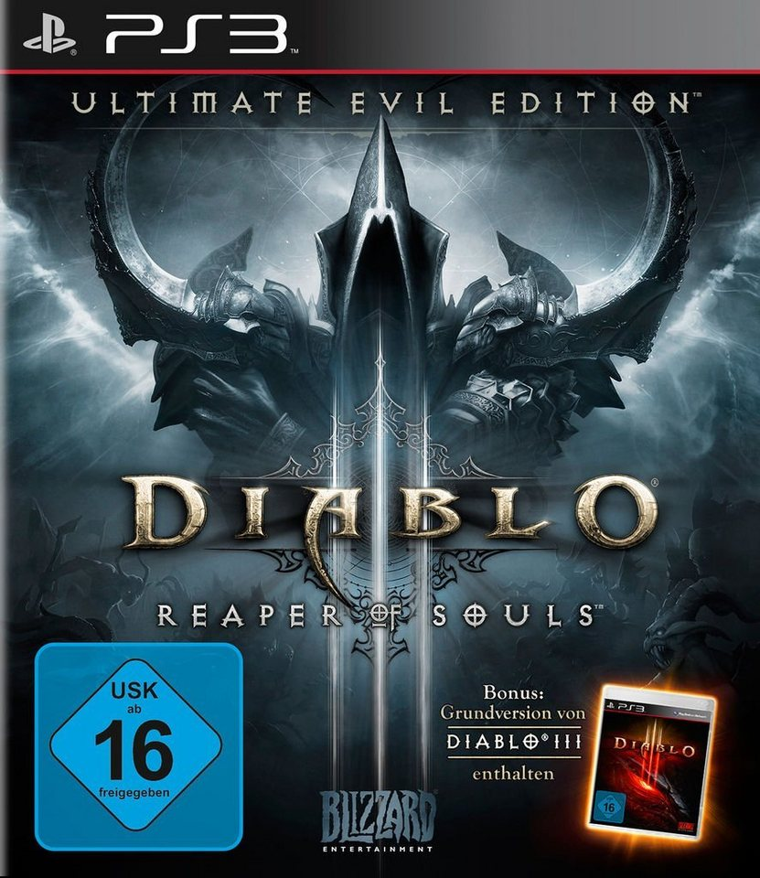 Blizzard Playstation 3 - Spiel »Diablo 3 Ultimate Evil Edition«