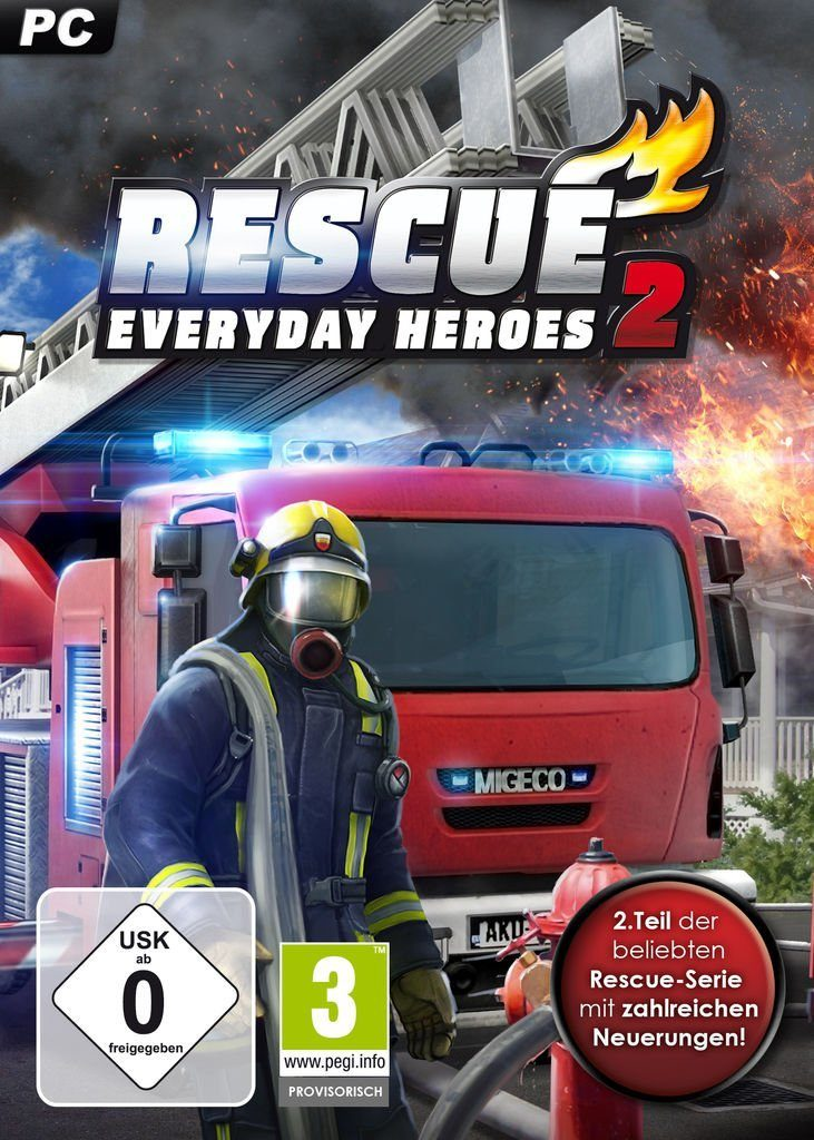 rondomedia PC - Spiel »RESCUE 2: Everyday Heroes«