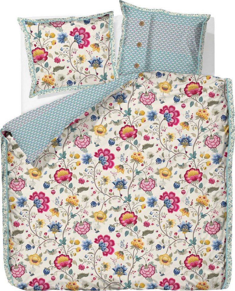 wendebettw sche pip studio floral fantasy fein gemusterte wendeseite online kaufen otto. Black Bedroom Furniture Sets. Home Design Ideas