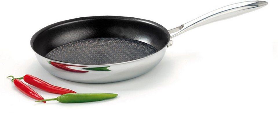 SILVERSTAR-Steakpfanne in silberfarben