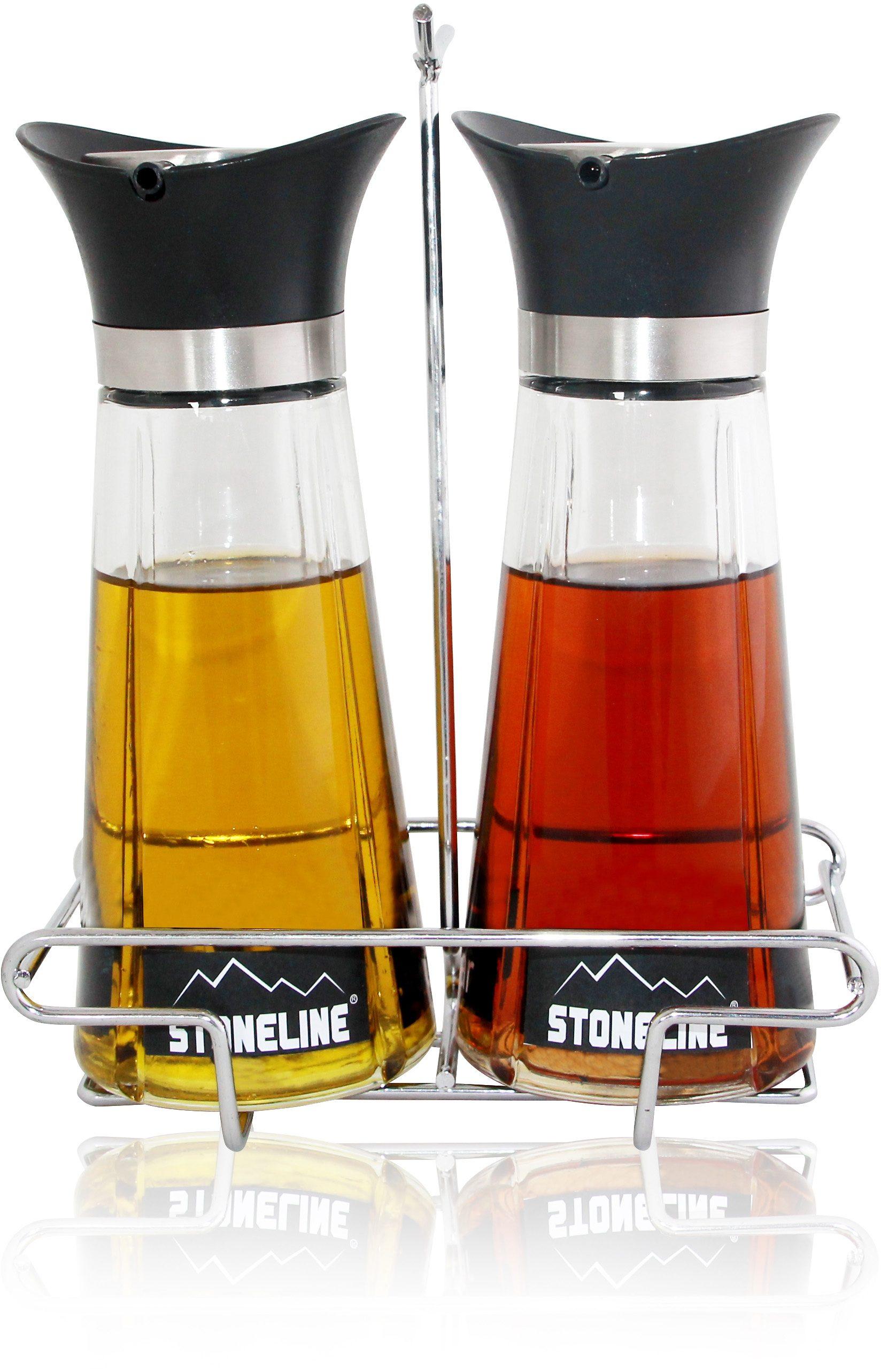 STONELINE® Essig- und Ölflaschen-'Set, 2-teilig