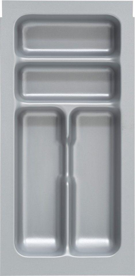 Besteckeinsatz 30 cm, Optifit in grau