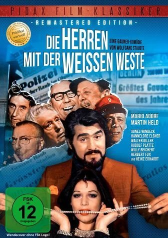 DVD »Die Herren mit der weißen Weste«