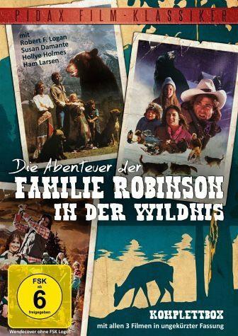 DVD »Die Abenteuer der Familie Robinson in der...«