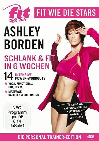 DVD »Fit for Fun - Fit wie die Stars: Ashley Borden...«