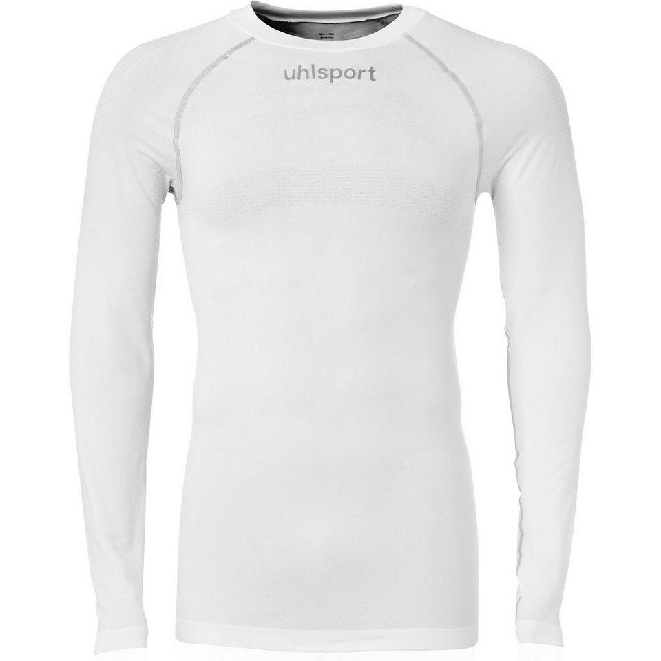 UHLSPORT Thermoshirt Langarm Herren in weiß