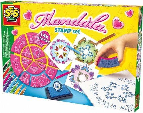SES Creative Kreativset Mandala-Stempel