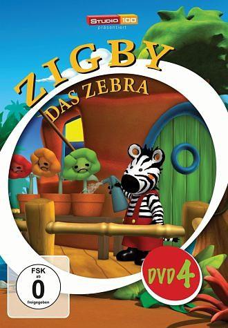 DVD »Zigby - Das Zebra, DVD 4«