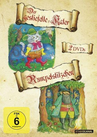DVD »Rumpelstilzchen / Der gestiefelte Kater (2 Discs)«