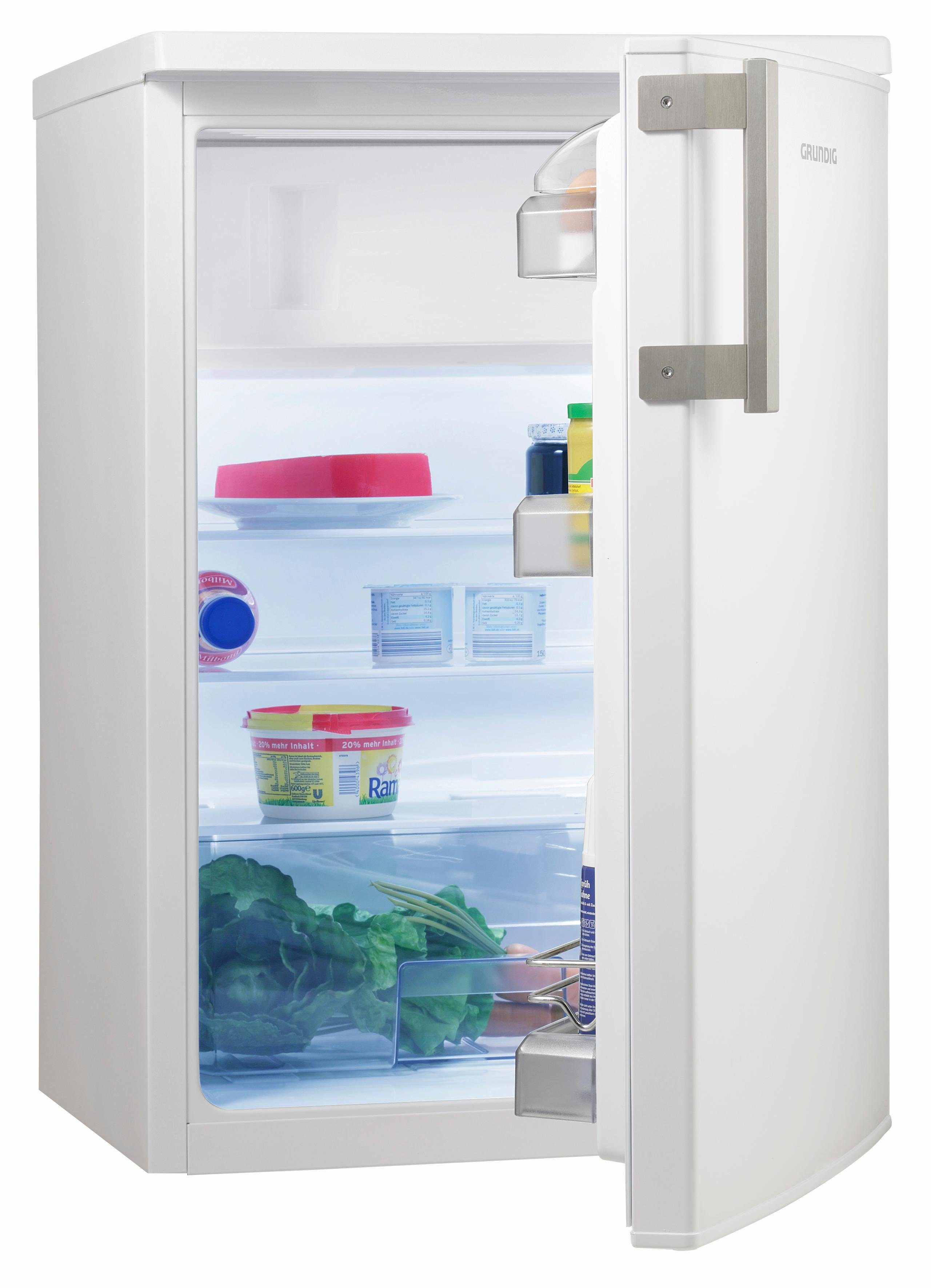 Grundig Kühlschrank GTM 14120, A++, 84 cm hoch
