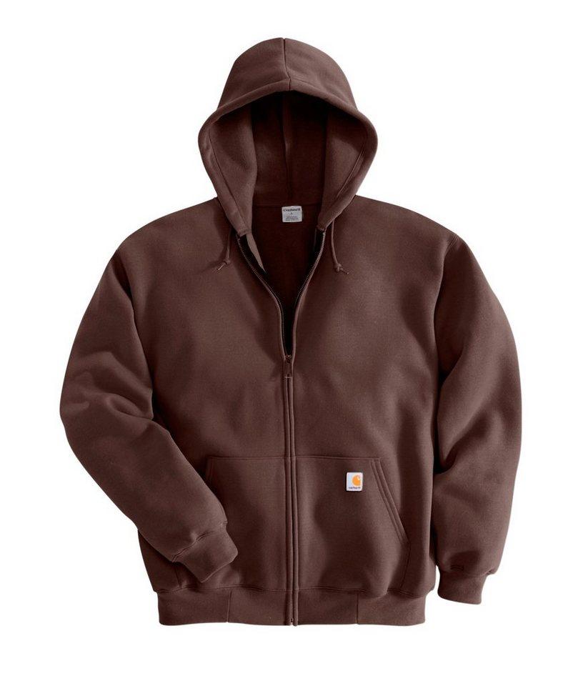 Sweatshirt »K122« in dunkelbraun