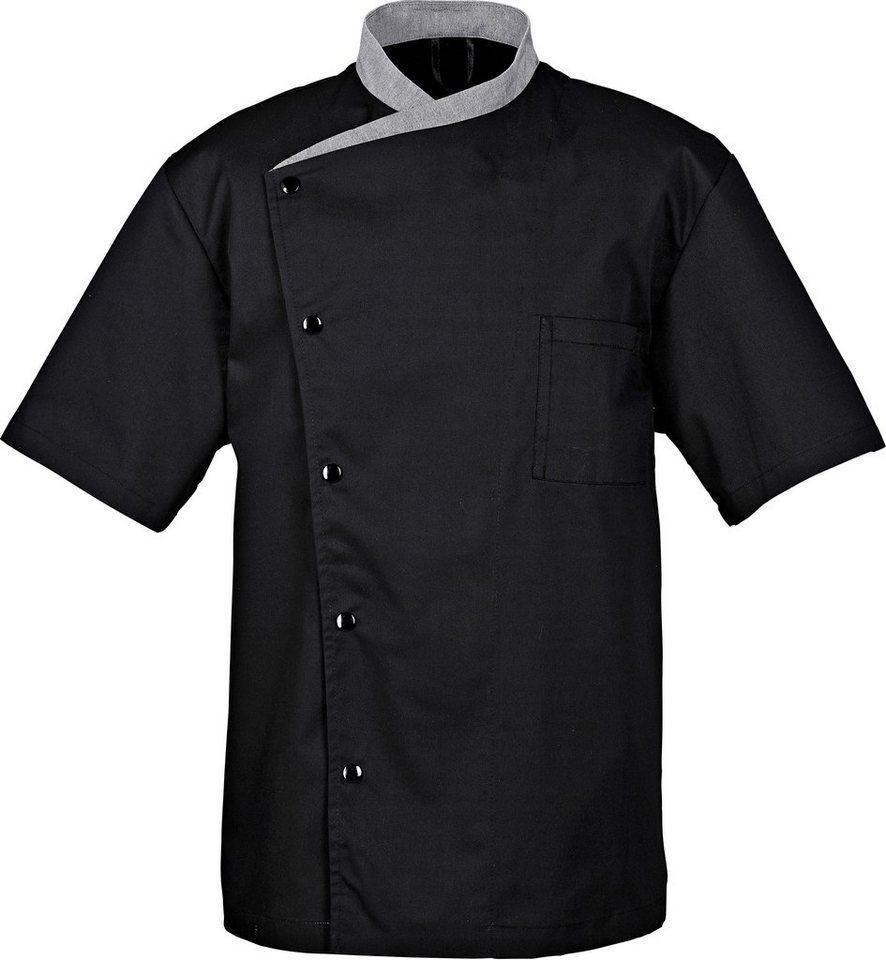 Kochjacke »Juliuso« in schwarz