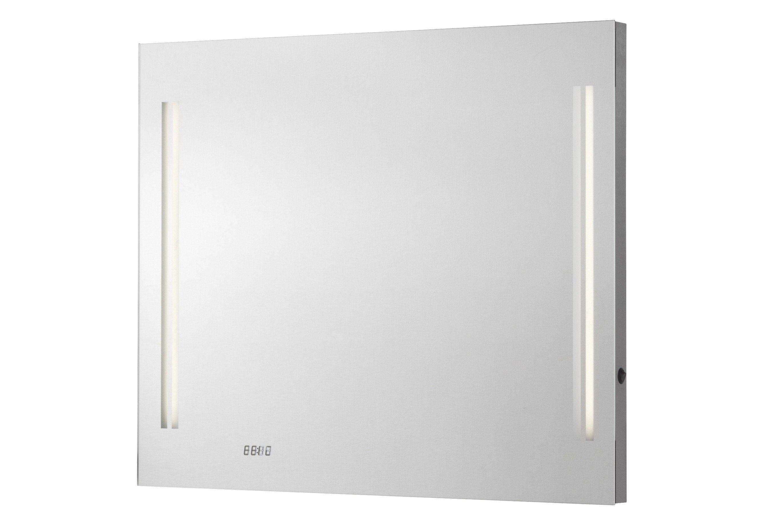 Fackelmann Spiegel / Badspiegel »Lugano« Breite 80 cm, mit Beleuchtung