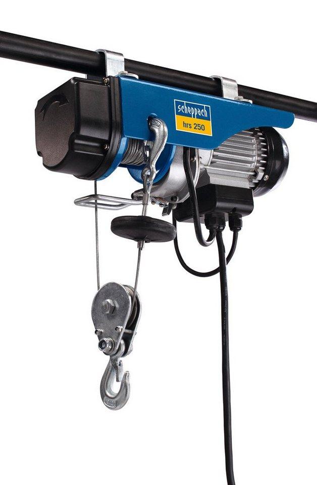 Scheppach Elektrischer Seilzug »hrs 250« in blau