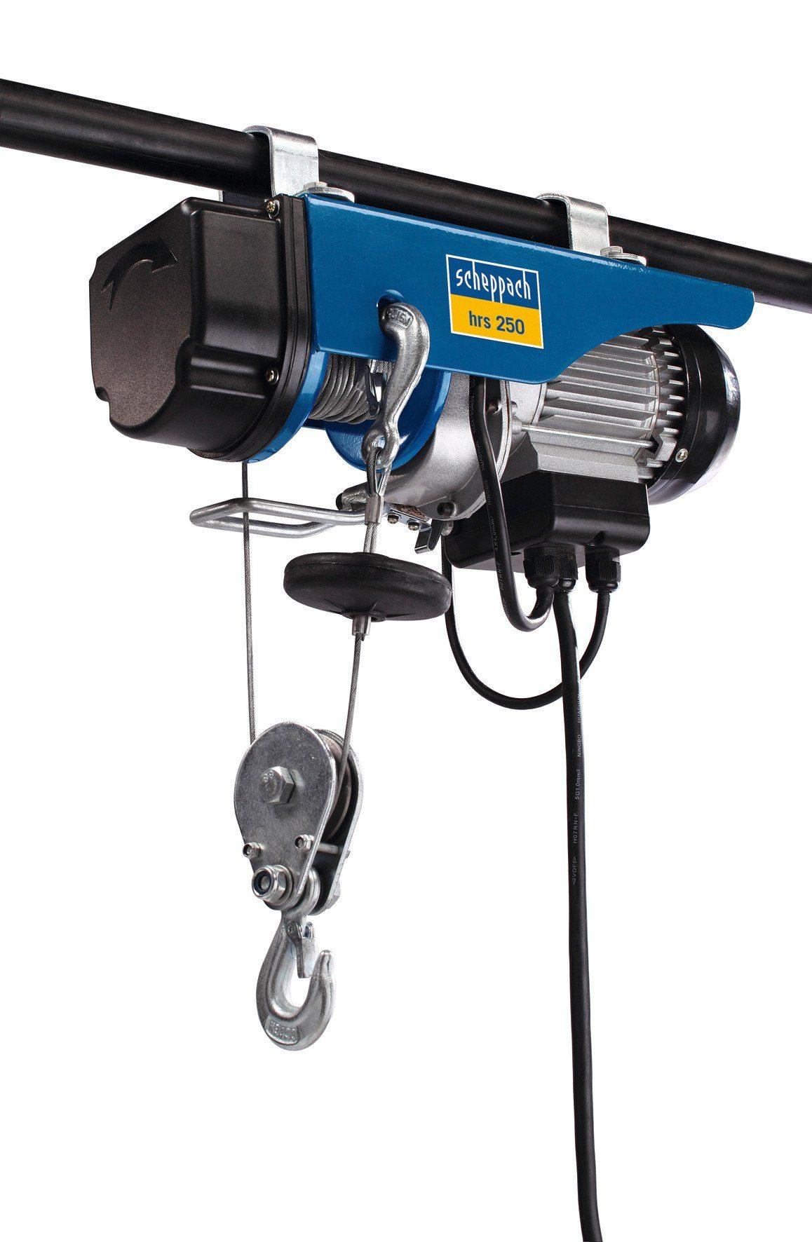 Scheppach Elektrischer Seilzug »hrs 250«