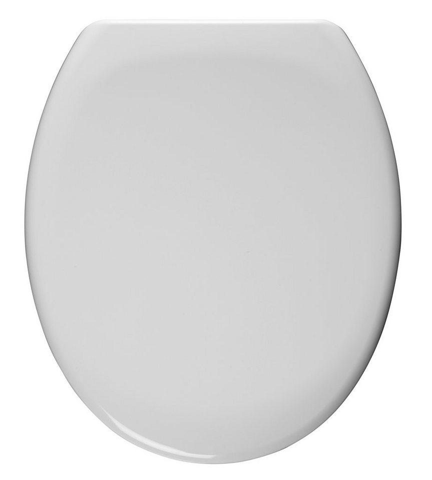 WC-Sitz »Monza«, Mit Absenkautomatik in weiß