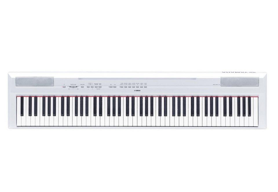 Digital-Piano, »P-115WH«, Yamaha in weiß