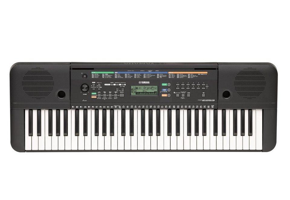 Digital-Keyboard, »PSR - E253«, Yamaha in schwarz