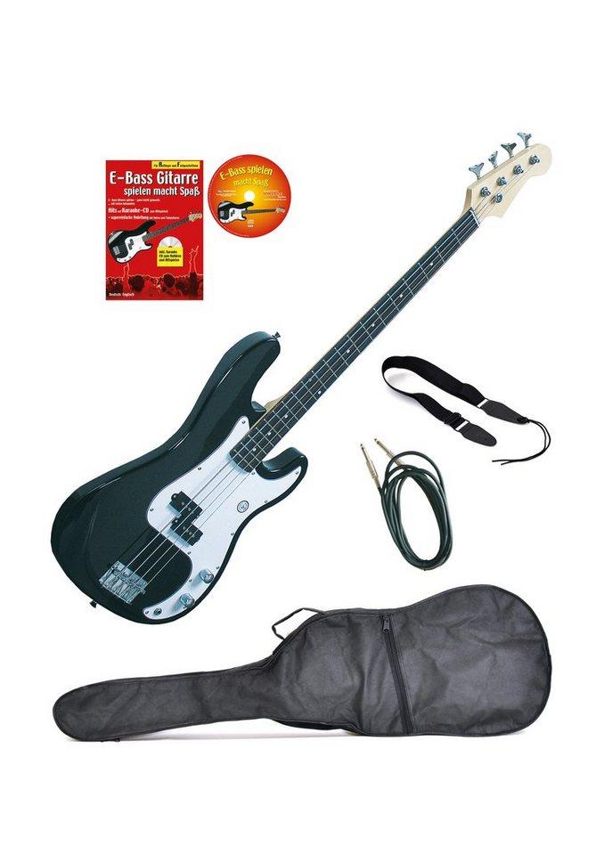 Set: E-Bass + Zubehör, »Clifton E-Bass«