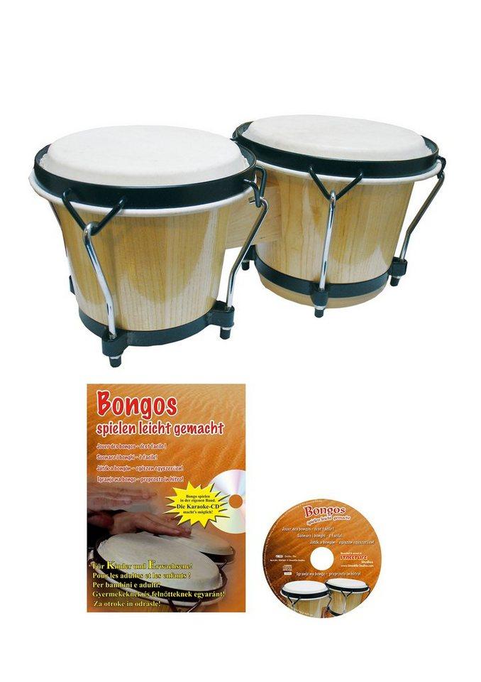 Set: Bongo + Zubehör, »Clifton - Bongo Set« in natur