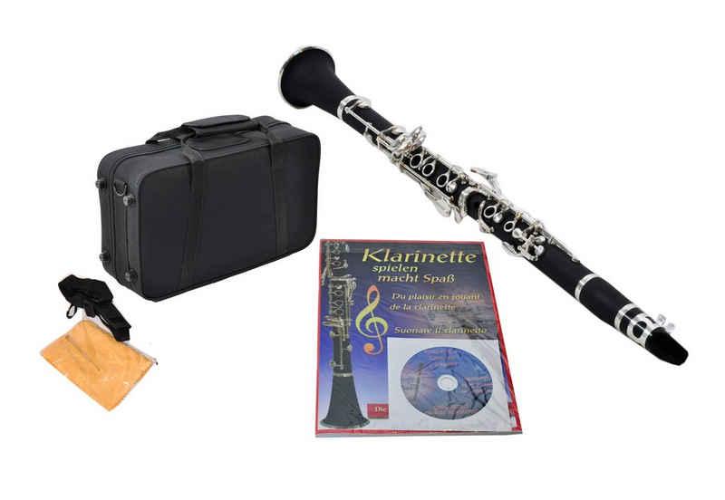 Clifton Bb-Klarinette, boehmisch, inkl. Notenbuch und CD