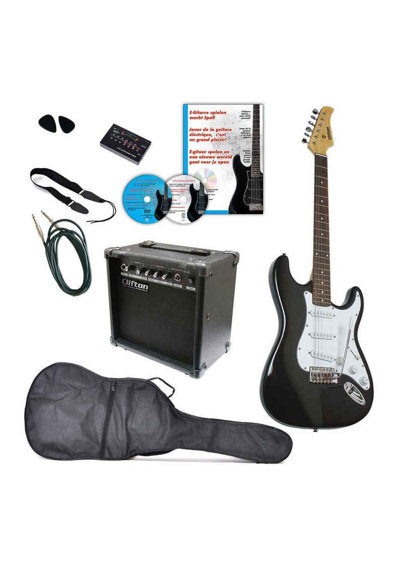 Clifton E-Gitarre »Clifton E-Gitarren«, Komplettset