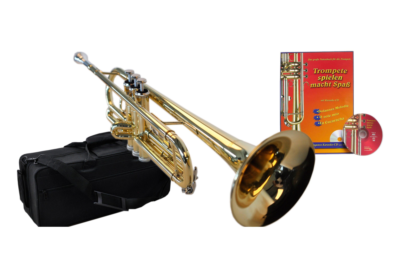 Trompete Spielzeug spielende Trompete wie neu Blasinstrumente